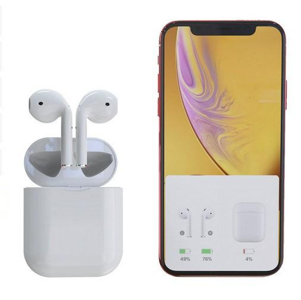 S68 TWS Auricular Bluetooth Binaural Llamadas Auricular Bluetooth 5.0 Earpod Con Caja de carga Mic Ventana emergente Auriculares para iPhone Xiaomi