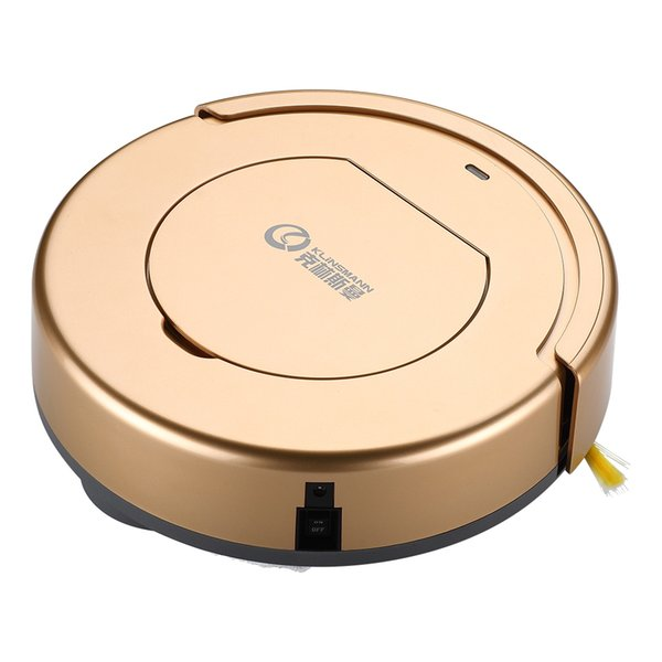 top popular KLiNSMANN Intelligent Cleaning Robot Household Vacuum Cleaner,suitable for any indoor hard ground, including floor, cement, ceramic tile 2021