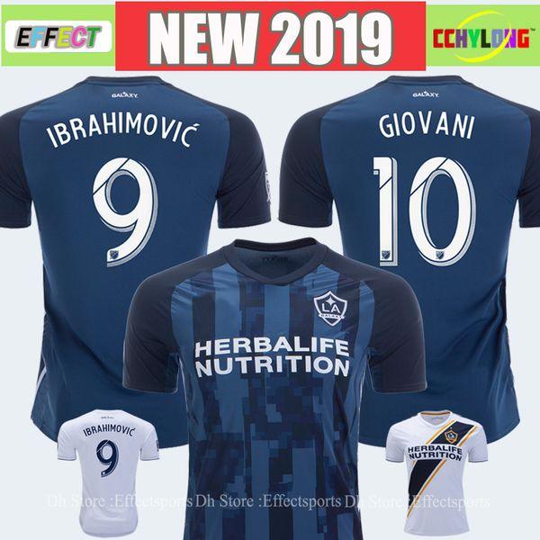 2019 LA Galaxy Soccer Jersey Zlatan Ibrahimovic 18/19/20 Los Angeles Home Away Blue GERRARD ALESSNDRINI J.DOS SANTOS GIOVANI Football Shirts