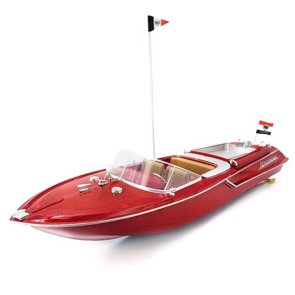 Flytec HQ2011 - 1 20 km / h ad alta velocità RC Boat Toy Model RC barca a vela ad alta potenza batteria ricaricabile per i bambini regali
