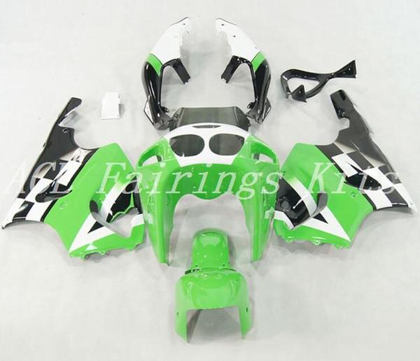 Good quality New ABS motorcycle fairings fit for kawasaki Ninja ZX7R 1996-2003 ZX7R 96 97 98 99 00 01 02 03 fairing kits black white green