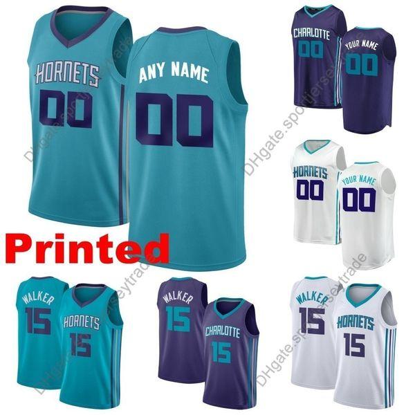 buy popular 89c7e 0a9a7 2019 2019 Printed Mens Charlotte Kemba Walker Hornets Tony Parker Marvin  Williams Nicolas Batum Jeremy Lamb Cody Zeller Edition Basketball Jersey  From ...