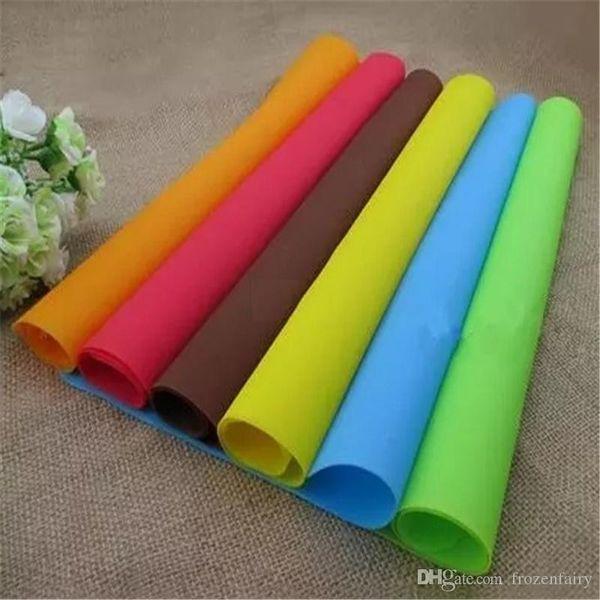 40x30cm tapis de silicone doublure de cuisson meilleur tapis de four en silicone pad d'isolation thermique pad Bakeware enfant tapis de table
