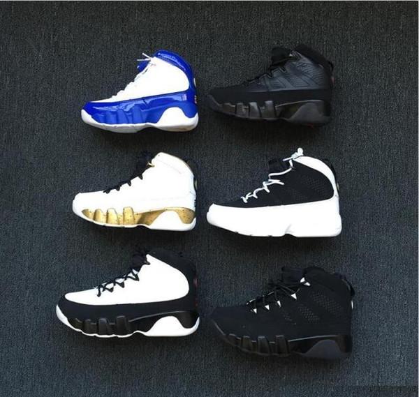 nike air jordan aj9 Şık Erkek Kız Çocuk Ayakkabı Tasarımcısı 9 9 s Yeni Moda Atletik Basketbol Ayakkabıları Sneakers Bebek Çocuk Erkek Kızlar Için