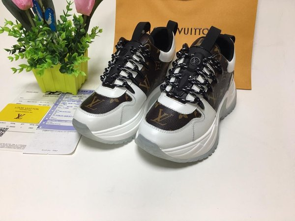 top popular 2019x luxury custom couple casual sports shoes, high quality men and women fashion wild low shoes, original box packaging, size: 35-45 2019