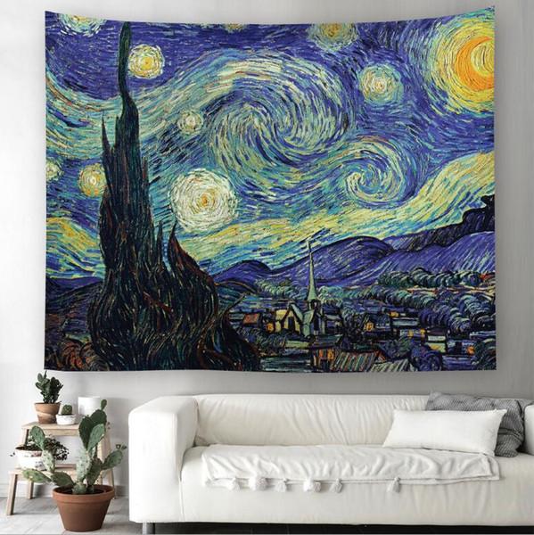 Ming malerei 3d kreative muster tapisserie ployester wandbehang tapisserie für wanddekoration stoff home hintergrund tuch yoga matten h409