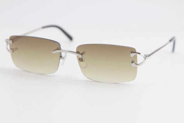 Silver Brown Lens