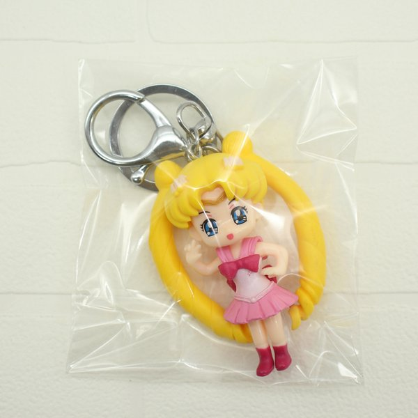 Japanese style four expressions Sailor Moon Month rabbit sweet cute style PVC material lightweight simple accessories