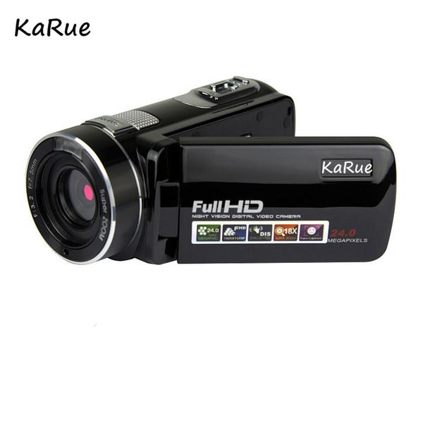 KaRue Night Vision 5MP CMOS Digital Video Camera Camcorder HD 720P Digital Video Camera 2.7 Inch Screen 16 XDigital Zoom