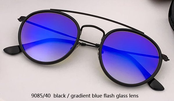9085/4O black/gradient blue flash