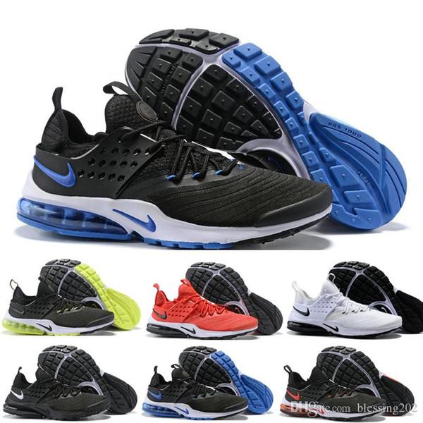 Compre Nike Air Presto Nuevo Presto 5 Hombres Zapatillas De Deporte Para Mujer Tripel Negro Blanco Rojo Zapatillas De Deporte Para Hombre Zapatillas