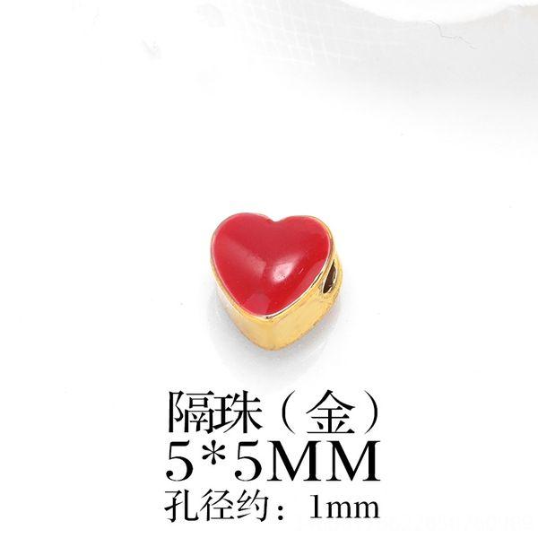 Rojo del goteo de aceite en forma de corazón-Un Paquete