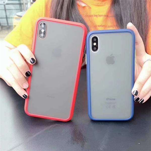 Clear Phone Case Transparent TPU Case Shockproof Hard PC Back Cover For iPhone X Xr Xs Max 8 7 6 6S Plus Samsung