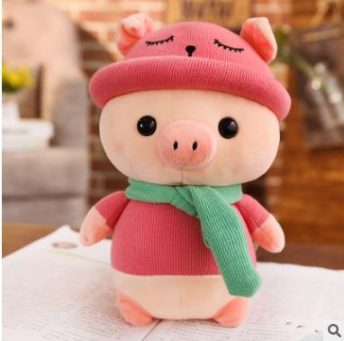 plush toys adorable piggy plush doll soft stuffed pig dolls home decor gift