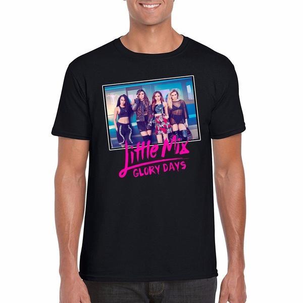Küçük Mix Glory Days Tur tişört, Fan İngiliz Sanatçılar Grubu Fan Poster Üst Sokak Stili Tişörtlü