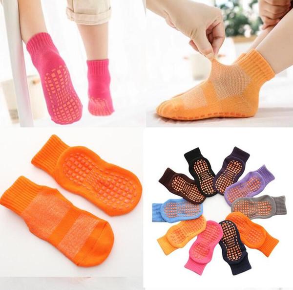 best selling 10 colors summer Breathable kids children men women trampoline socks fashion mesh baby jump sock for boys girls Non-slip floor socks