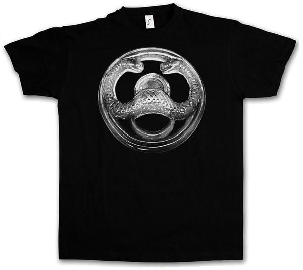 Camisetas estampadas de manga corta Logotipo de Thulsa Doom Camiseta I Conan Película Bárbaro Arnold Cult Schwarzenegger