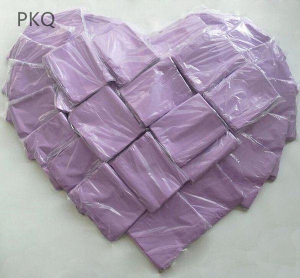 100Pcs Purple 28*42cm Courier Postage Poly Mailing Packaging Bags,Large Self Adhesive Mail Express Pouches&Goods Packaging Bags