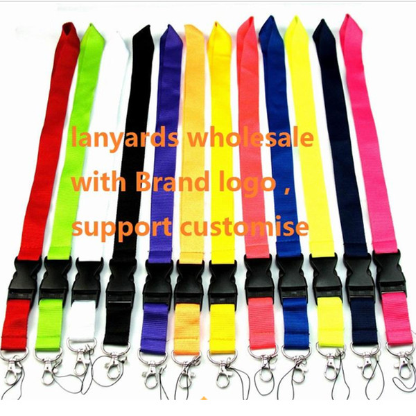 top popular Brand logo Lanyard Cell Phone Detachable Strap Necklace Chain String For E-Cigarette ID card holder For Camera Mobile phones 2020
