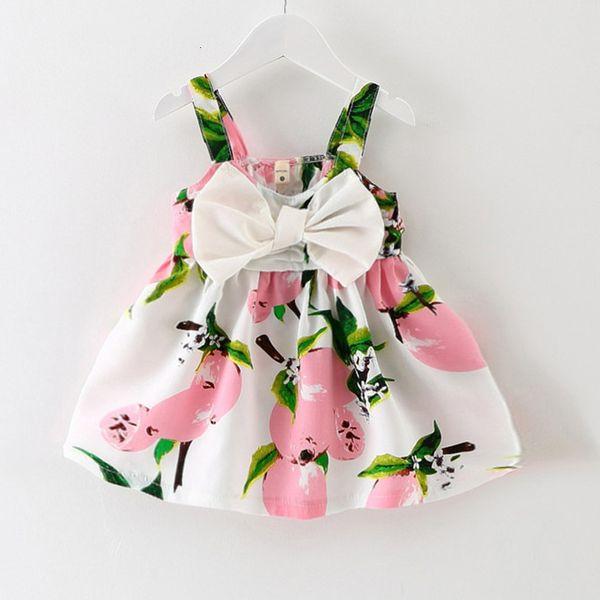 Bébé fille robe 2019 été nouveau bébé vêtements fille robe fleur de dentelle d'anniversaire de princesse enfants
