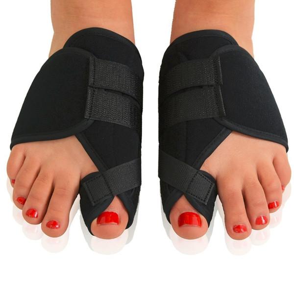 1 Par Macio Joanete Corrector Toe Separador Splint Correção Médica Hálux Valgo Cuidados Com Os Pés Pedicure Ortopedia Cintas de Apoio