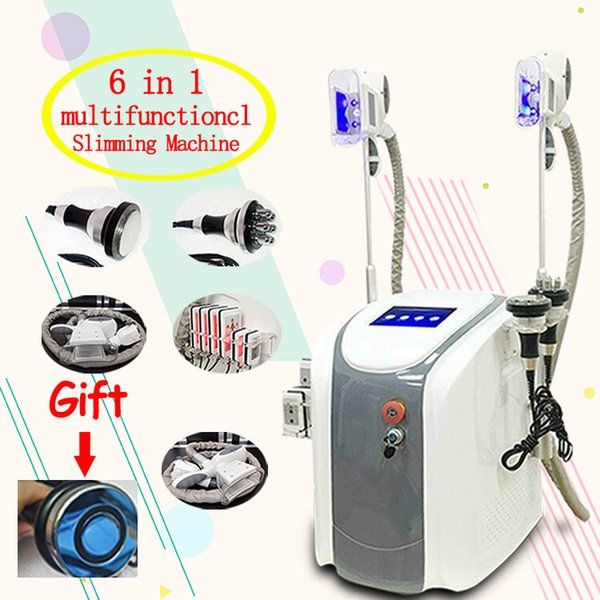 best selling Cool sculpting Cryotherapy lipolaser cavitation machine radio frequency treatments fat freeze slimming machine Shape cryo vacuum