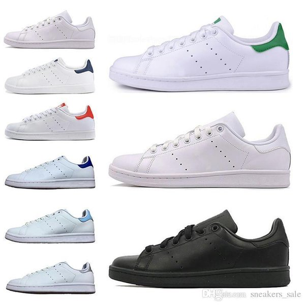 men women New new stan shoes fashion smith sneakers Casual shoes leather sport classic flats Size 36-45