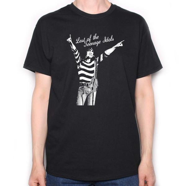 A Tribute To The Sensational Alex Harvey T - Last Of The Teen Idols! Moda Unissex Camiseta T topo