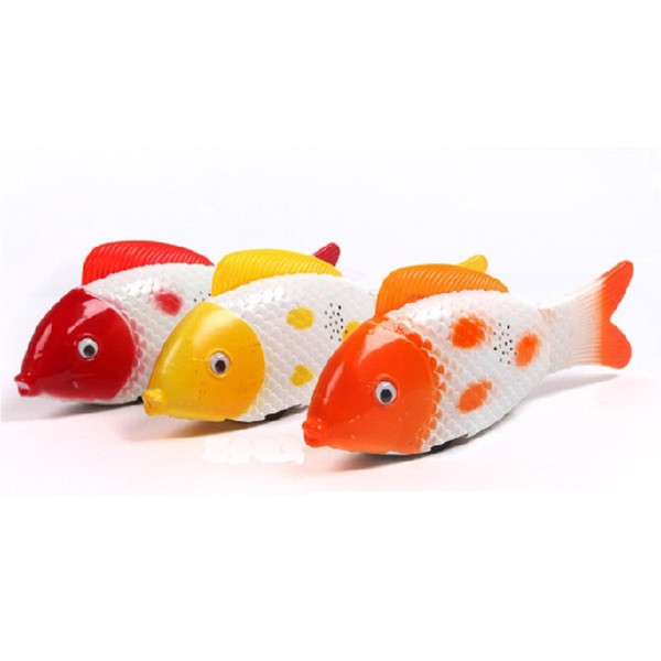 Wholesale Led Glowing Fish Toy Flash Electric Toy Unisex Children Toy Fish Singing & Flashing & Sway Clownfish Babies' Lovely Led bauble