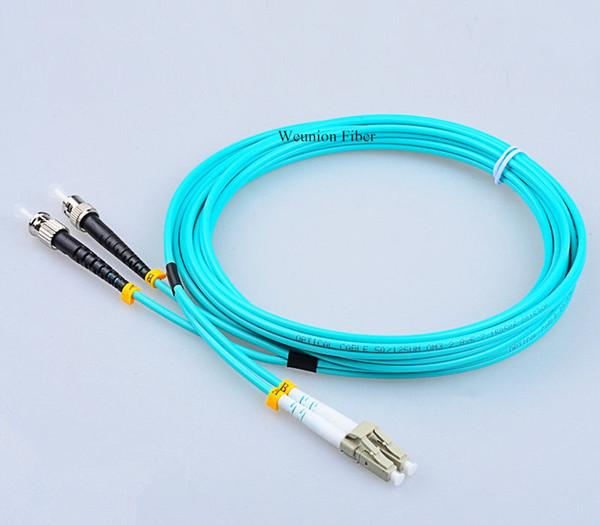 5шт ЛНР-СТ ОМ3 50/125 стекловолокна mm патчкорд с коннекторами шлямбур волокна дуплекса FTTH 3Meter