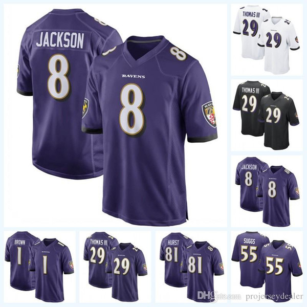 watch 5e720 9d874 2019 Baltimore 8 Lamar Jackson 3 Robert Griffin III Ravens 2 Jalan  McClendon 7 Trace McSorley 30 Kenneth Dixon 35 Gus Edwards Football Jersey  From ...