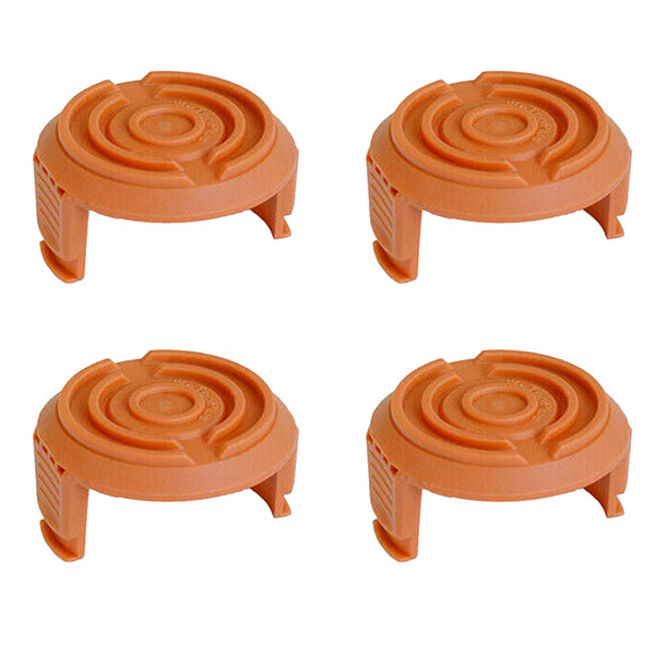 4Pcs Accessories Replacement Cover Home Mini Durable Tool Cordless Grass Trimmer Edger Spool Cap Bottom Parts For WORX WA6531