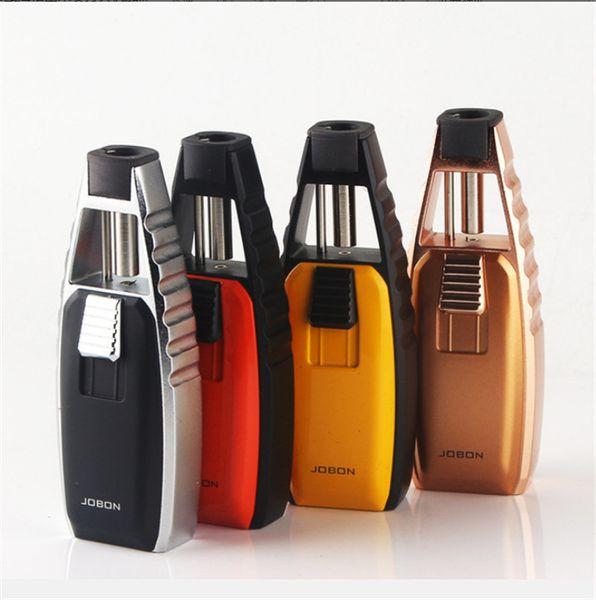 alta calidad a prueba de viento llama Jet Antorcha encendedor recargable de soldadura Pistola de pulverización de cigarrillos butano encendedor de cigarros por fumar Herramientas de tuberías 2pcs