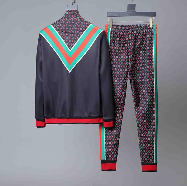 2020ss maschile abbigliamento sportivo uomo e donna di alta qualità del rivestimento di modo sportswear maschile nero bianco inverno autunno inverno da jogging sportswear
