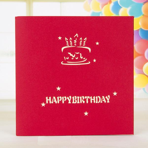 Joyeux anniversaire carte 3D carte de voeux papier fait main fantastique anniversaire joyeux anniversaire cartes de voeux cadeaux