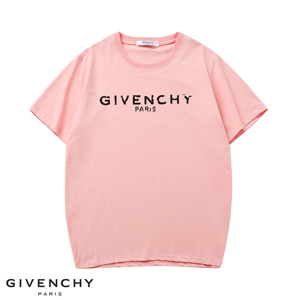 Verão A nova moda polo dos homens designer de marca T-shirt bordado abelha de manga curta T-shirt da juventude dos homens T-shirt