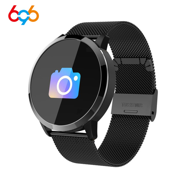 696 Q8 Men Smart Watch Men Fitness Heart Rate Trackrt IP67 Waterproof Bracelet Monitor Sport Wristband For Android IOS