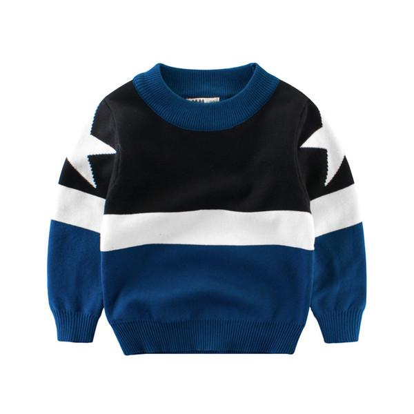 Tout-petit garçon Pull enfants Vêtements printemps 2019 enfants à manches longues Pull bébé tricot Pull Pull Enfant Garçons Maille Garcon