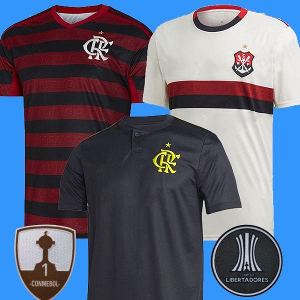 CR Flamengo 2019 2020 futbol forması 19 20 Flamenko uzakta beyaz Camisa de futebol GUERRERO DIEGO 2019 futbol forması maillot