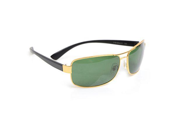 Gold Frame Grün Lens