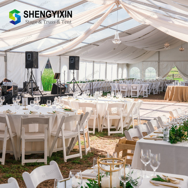 Cheapest price top quality aluminum/steel commercial trade show tent
