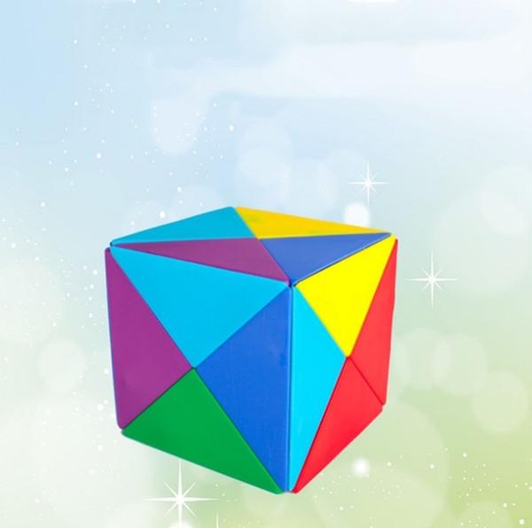 Los juguetes creativos de Magic Cube son buenos para la educación temprana Los juguetes para niños Magic Intelligence Variable Magic Cube Building Blocks