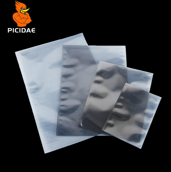 12x30cm Anti-static shield Open Flat Bag plastic hard disk electronic Packaging Accessories Motherboard Communication network card Graphics