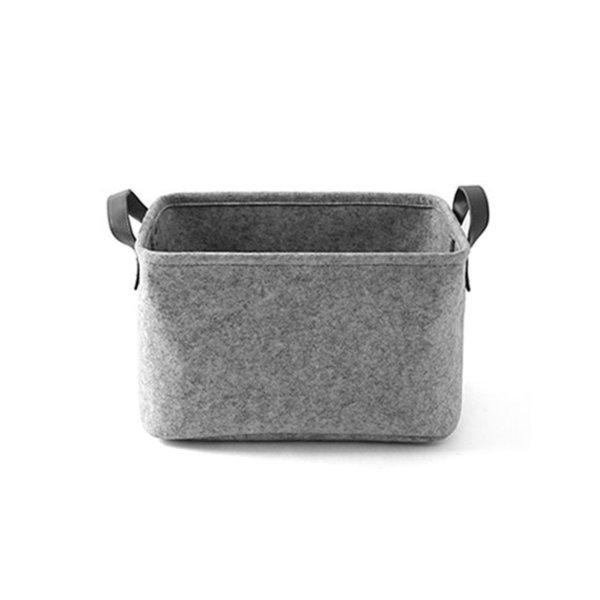 Color:Light Grey&Size:33 x 23 x 20cm