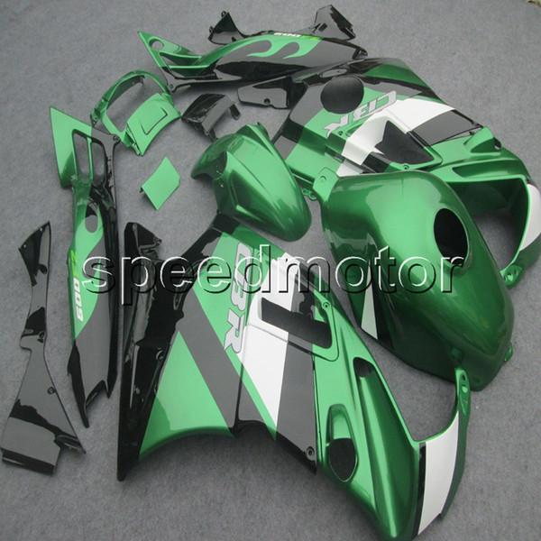 23colors+Screws green motorcycle cowl Fairing for HONDA CBR600 F2 1991 1992 1993 1994 600F2 91 92 93 94 ABS motor panels