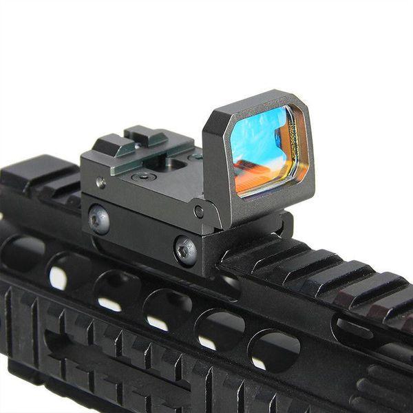 Vism Flip Red Dot Mini Pistola Sight RMR Reflex Visão holográfica para airsoft