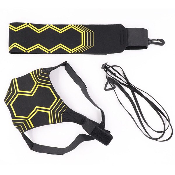 Top quality Soccer training equipment kick belt Sports Solo Footbal Soccer Kick Return Belt Trainer Fits Ball Size 3 4 5