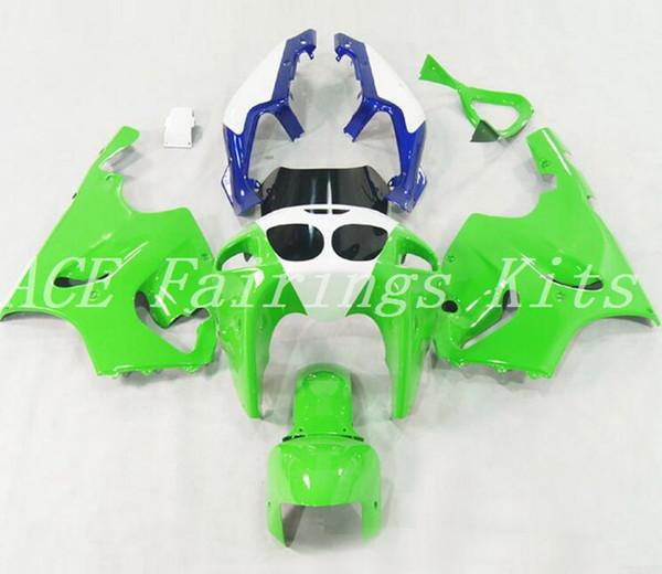 High quality New ABS motorcycle fairings fit for kawasaki Ninja ZX7R 1996-2003 ZX7R 96 97 98 99 00 01 02 03 fairing kits white green blue