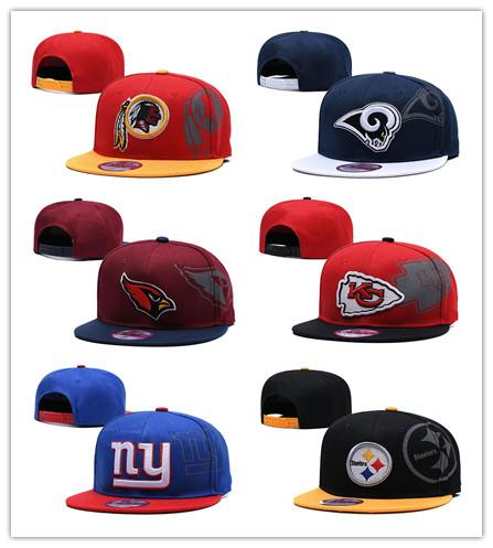 2019 The New Redskins Embroidery Team Logo Rams Printed Cardinals Outdoor Steelers Sport Chiefs Adjustable Hats Giants