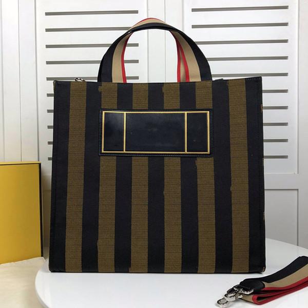 Bolsos de diseño Marca famosa 19 Nuevo Spring Plain Three Color Gradient Genuine Leather Big Shopping Bag